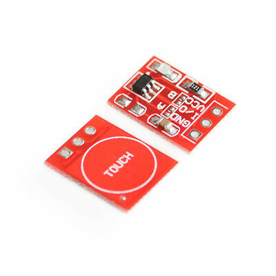 NEW TTP223 Capacitive Touch Switch Button Self-Lock Module for Arduino  2PCS