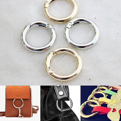 Snap Clip Trigger Spring Gate O Ring Keyring Buckle Bag Accessories 25/28/38mm