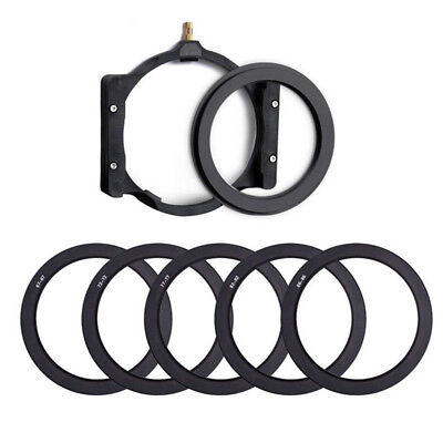 Multifunctional Camera Filter Holder+Adapter Ring for Cokin Z 67/72/77/82/86mm