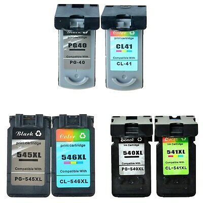 Ink Cartridge PG545XL CL546XL 540XL CL541XL PG40 CL41 for Canon Pixma With Chip