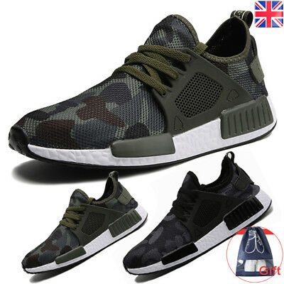 Men's Athletic Casual Sneakers Outdoor Running Breathable Sports Shoes Trainers