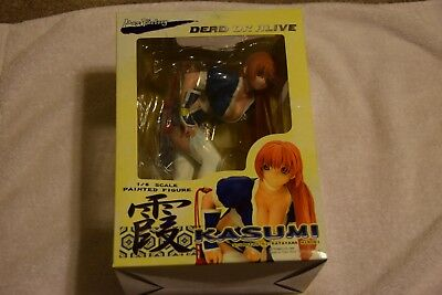 DEAD OR ALIVE Kasumi Max Factory Blue C1 Ver. PVC ABS&PVC Statue NEW IN BOX