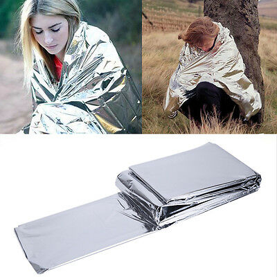 Waterproof Emergency Survival Outdoor Foil Thermal First Aid Rescue Blank Dlqq