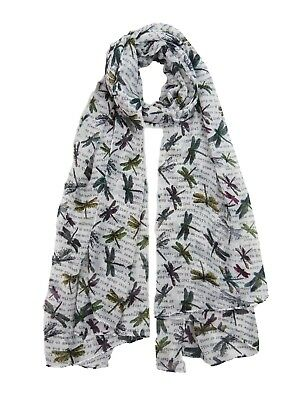 Beautiful Dragonfly Dream Dragon Flies Trees Scarf Ladies Soft Quality 10 Color