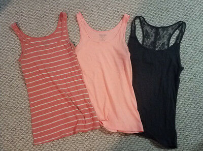 Lot of 3 Women's Tanktops American Eagle, Mossimo - Size XL