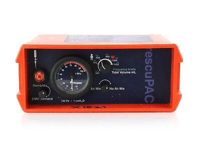 Smiths Medical Pneupac ParaPAC RescuPAC 2DM Medical Transport Ventilator #42