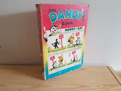 DANDY BOOK 1955 vintage comic annual - minor spine loss