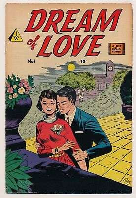 Dream of Love (1958 I.W.) #1 FN- Hard to find