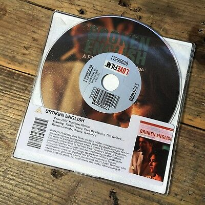 Broken English (DVD 2007) Romantic Comedy Drama - Parker Posey - DISC ONLY