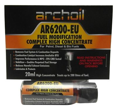 Archoil AR6200 Pro Fuel Conditioner & Cleaner 20ml