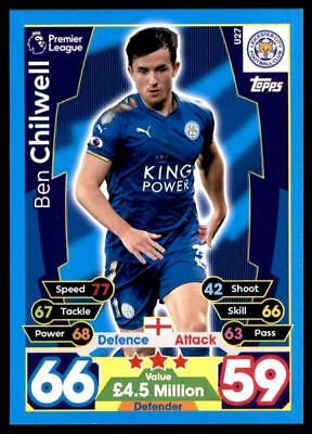Match Attax 17-18 EXTRA Ben Chilwell Leicester City Squad Updates No. U27