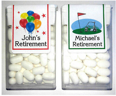 14 retirement party favors tic tac labels