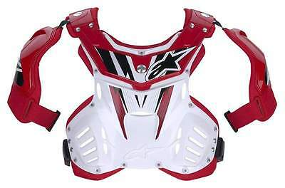 Alpinestars Storm MX Chest Protector (MEDIUM) RED