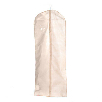"""Ivory 72"""" Inch Long Wedding Gown Bride Dress Cover Garment Clothes Storage Bag"""