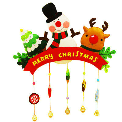 Christmas Kids Toy Home Ornament Decor Non Woven DIY Felt Materials Package