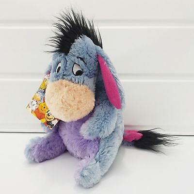 Disney Store Exclusive Eeyore From Winnie The Pooh - Soft Plush - Stamp & Tag