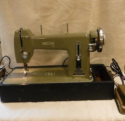 VINTAGE NECCHI BF MIRA Sewing Machine 4040 PicClick Gorgeous Necchi Bf Mira Sewing Machine