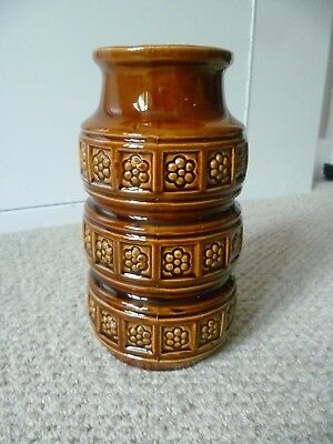 Lovely Vintageretro West German Pottery Vase 268 18 Perfect