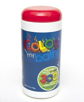 Color My Bath 300 Tablet Tub Colour Changing Primary Secondary Bathtime