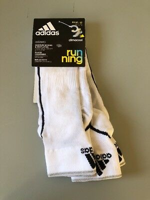 Brand-New 2 pairs Adidas climacool running socks size 40-42 UK 6.5-8 RRP £17