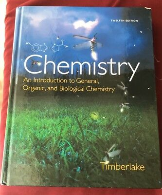 Chemistry: An Intro to General, Organic, & Biological Chemistry w Mastering