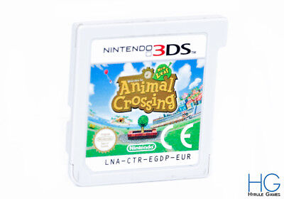 Animal Crossing: New Leaf - Nintendo 3DS Game Cartridge PAL