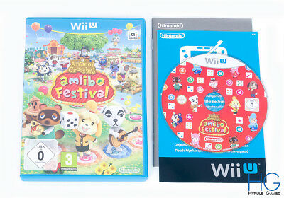 Animal Crossing: Amiibo Festival - Nintendo Wii U Disc & Case PAL