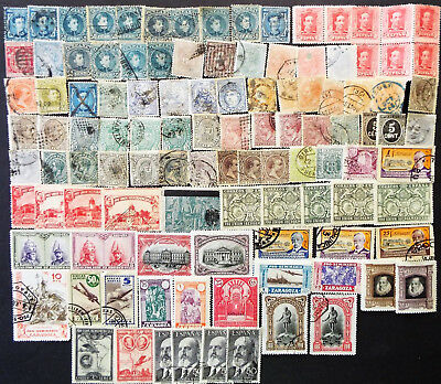 Mixture Of Older Stamps From Spain