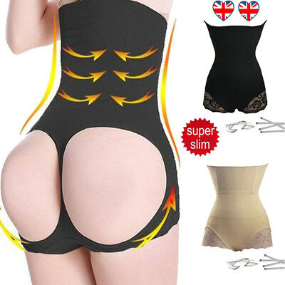 UK New High Waist Trainer Butt Body Shaper Bum Lift Buttocks Enhancer Booty Slim
