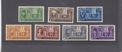 EGYPT-1946-ARAB LEAGUE CONGRESS SET-SG 315-321-MINT HINGE REMAINS-$5-freepost