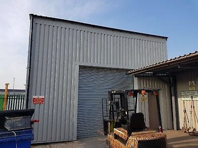Steel building Industrial spec Cleats And Bolts. Storage Unit,Workshop