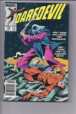 Canadian Newsstand Edition $0.75 Price Variant Daredevil #199