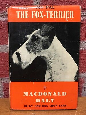Vintage Dog Book - My Pal The Fox-Terrier by Macdonald Daly