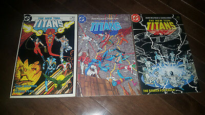 The New Teen Titans #1 #2 #3 (1984 DC) VF+/NM-