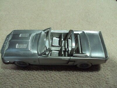 1968 Shelby Mustang GT 350  conv. pewter Danbury Mint 1/64 with card & paperwork