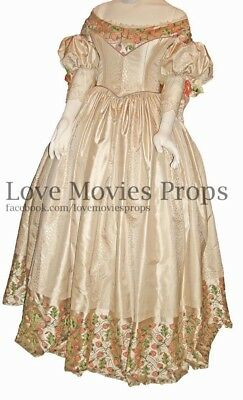 The Young Victoria Emily Blunt Worn Costume Princess Queen Dress Gown Diana Prop