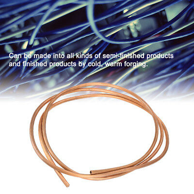 2M Soft Copper Tube Pipe for Refrigeration Plumbing OD:2/3/4/5/6mm ID:1/2/3/4mm