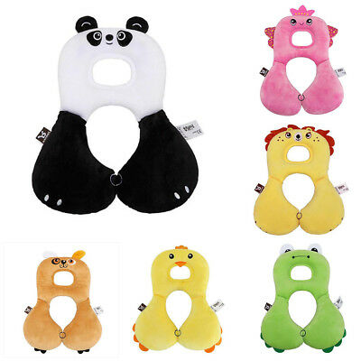 Baby Travel Car Animal Seat Pillow Stroller Head  Cushion Headrest Neck Support