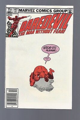 Canadian Newsstand Edition $0.75 Price Variant Daredevil #187