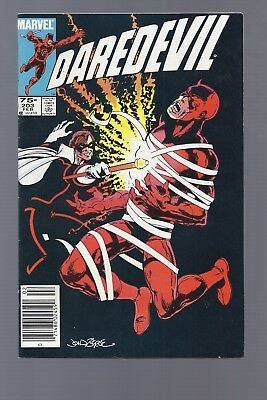 Canadian Newsstand Edition $0.75 Price Variant Daredevil #203