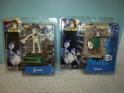 Wallace and Gromit The Curse Of The Were-rabbit Mcfarlane Set Of 2 Figures