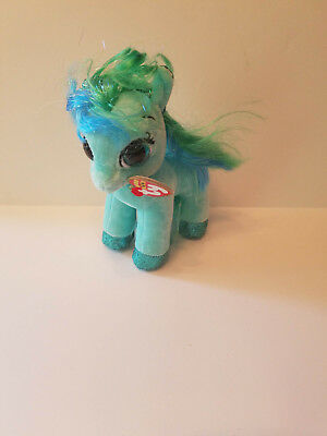 48adc57b2c7 Authentic New w  tags Ty Beanie Boo Topaz the Pony Horse 6 inches US SELLER