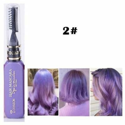 Temporary Washable Hair Chalk Comb Salon Hair Dye Comb Crayons For Hair Color