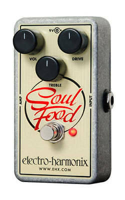 EHX Electro-Harmonix Soul Food Distortion/Fuzz/Overdrive Guitar Effects Pedal