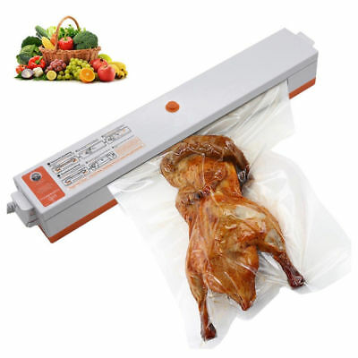 EU PlugElectric Household Food Vacuum Sealer Package Machine Film Packer Kitchen