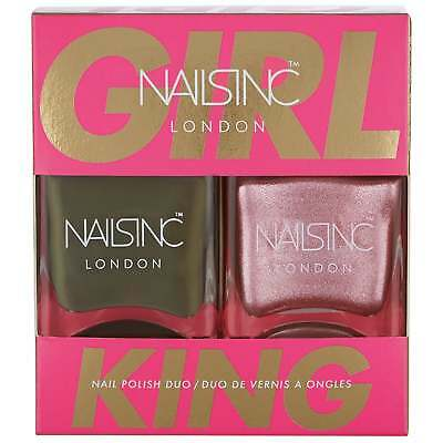 NAILS INC Nail Polish Duo - Girl King Collection (10723)