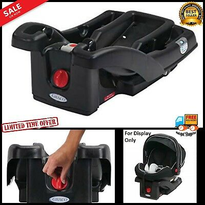 Infant Car Seat Base For Graco SnugRide Click Connect 30 35 LX Black One Size
