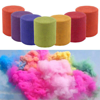 Colorful Smoke Tube Round Bomb Effect Show Background Photography Video Toys