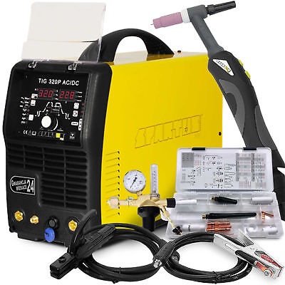 320A TIG Welder Welding Machine Professional Inverter SPARTUS 320P AC DC TORCH