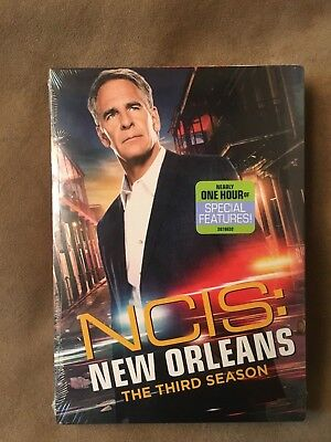 NCIS: New Orleans: The Third Season (DVD, 6-Disc Set, 2017) BRAND NEW